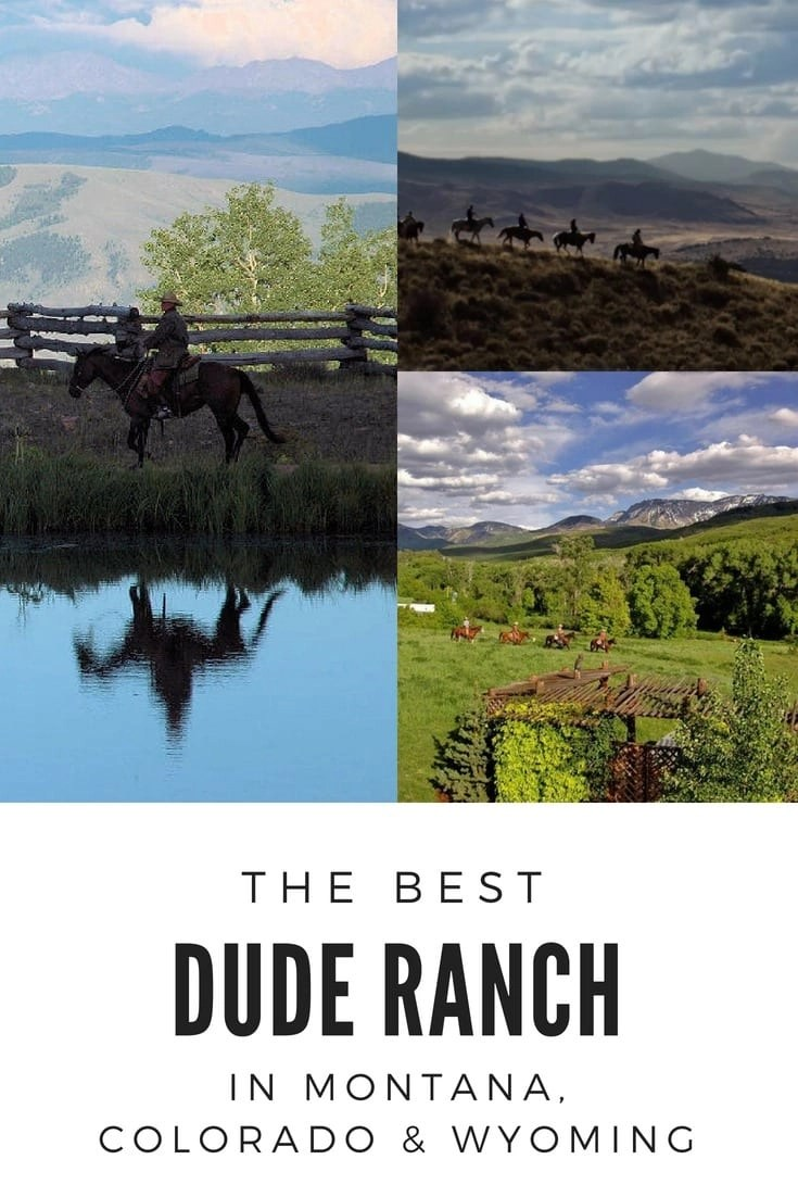 The Best Dude Ranch in Wyoming, Montana, and Colorado. Check out what makes these Dude Ranches amazing! #duderanch