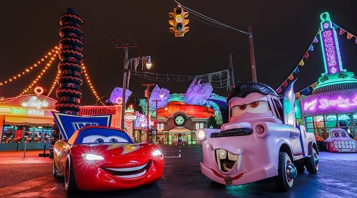 Disneyland Halloween Cars Land