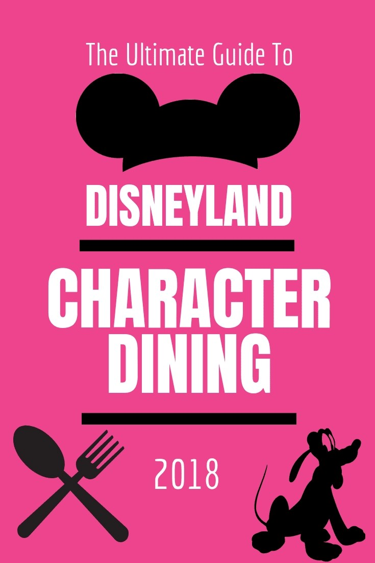 How to choose the best Disneyland Character Dining for your family. There are 4 super fun character dining experiences at Disneyland. Unfortunately, they can get pricey, so we break down the best option for your family. #disneydining #disneyland #characterexperience