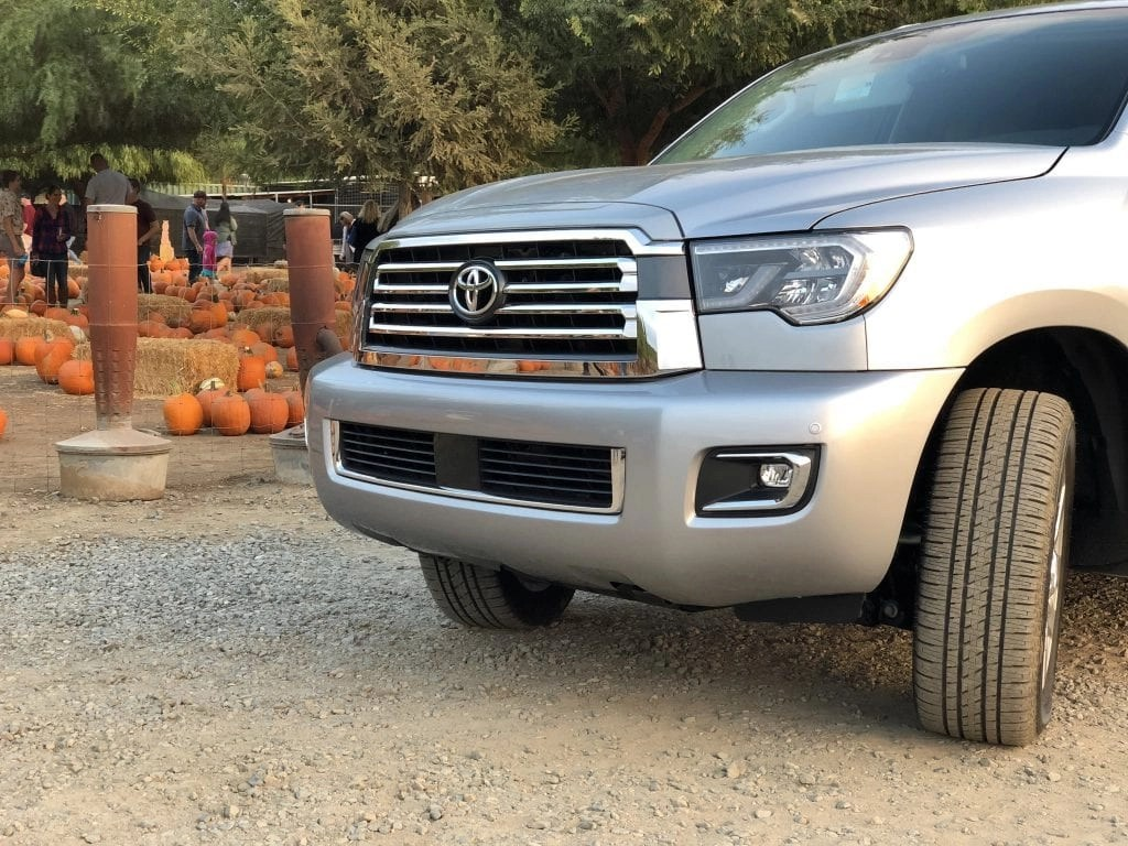 Have you seen the NEW Toyota Sequoia? It's the perfect family vehicle with so many amazing features!! #partner #Toyota