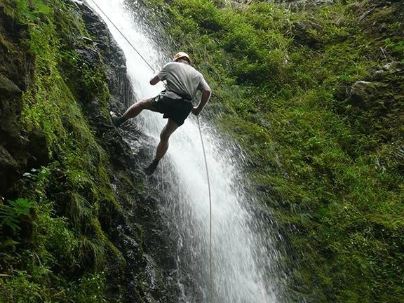 Zipline in Maui