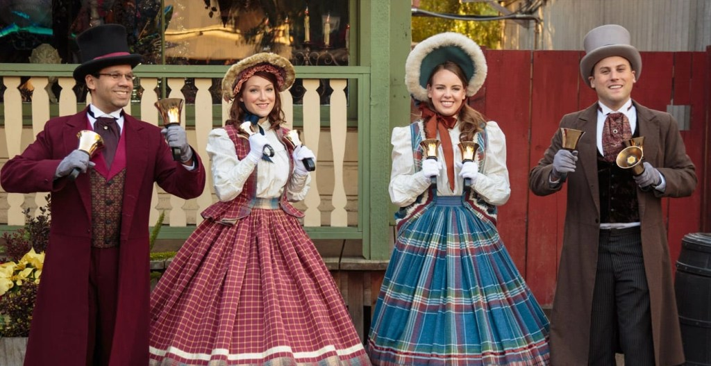 Knotts Merry Farm - Calico Carolers