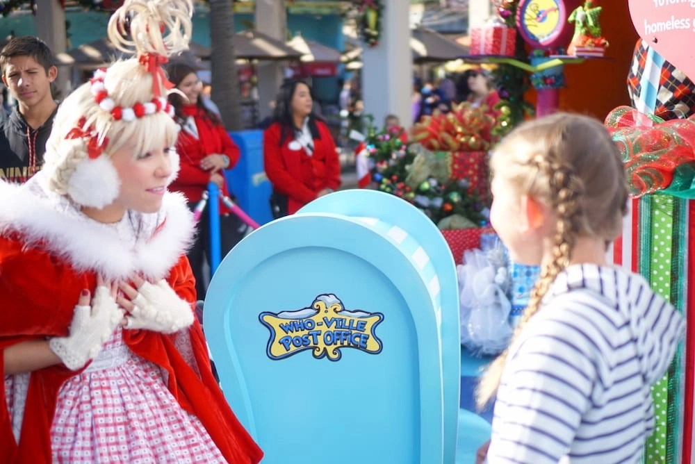 Universal Studios Grinchmas Post Office