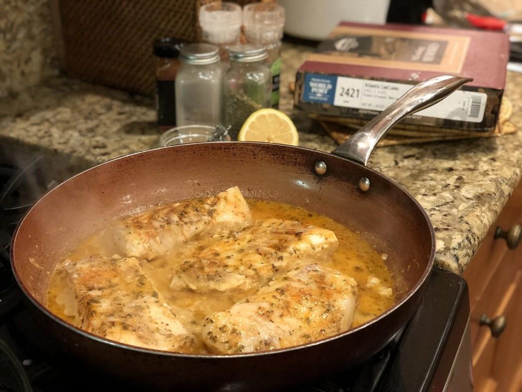 Buttered Cod Recipe
