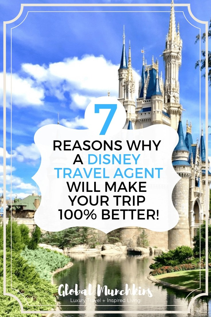From now on I tell people they should book their Disney trip with a Disney Travel Agent. Disney World, Disney Cruise, & Disneyland are often once in a lifetime vacations with your planning. The excitement your kids have for this kind of vacation is unmatchable. However, planning one of these vacations can be quite the task. Here are 7 reasons you might want to use a Disney Travel Agent. #travel #travelagent #planning #disneycruise #disneyworld #disneyland #traveltips