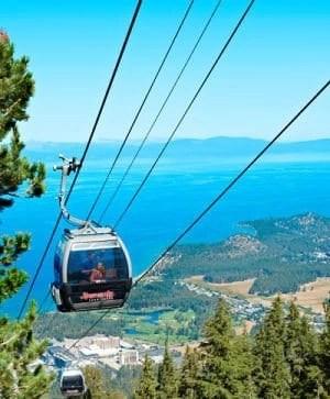 Lake Tahoe Summer - Heavenly Gondola