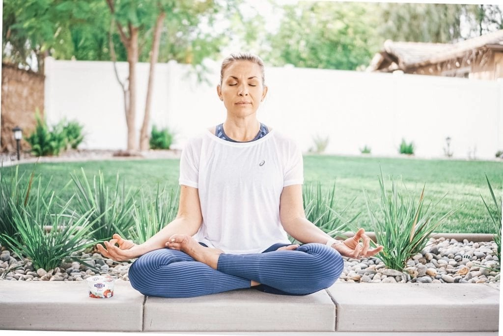 Meditation is a great way to manage stress.