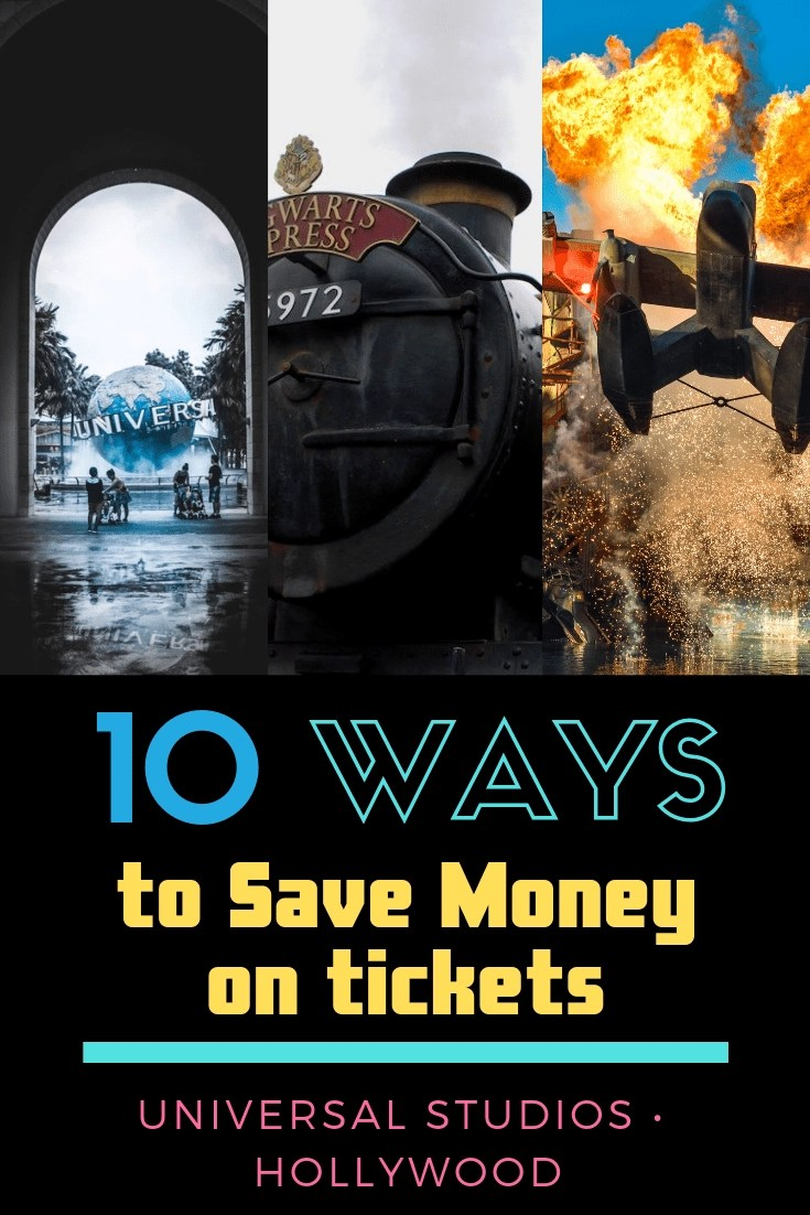 How to Buy Discount Universal Studios Discount Tickets! Universal Studios Hollywood is a great day but can be pricey. Here are 10 Easy Ways to Save on Tickets!