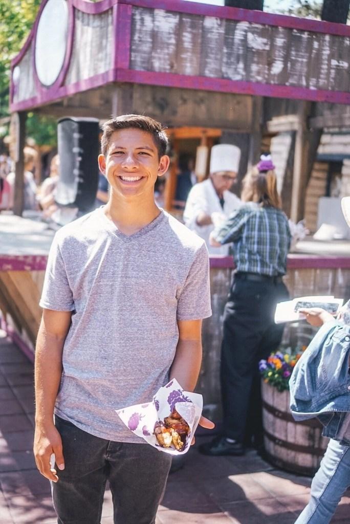 Knott's Boysenberry Festival new menu items