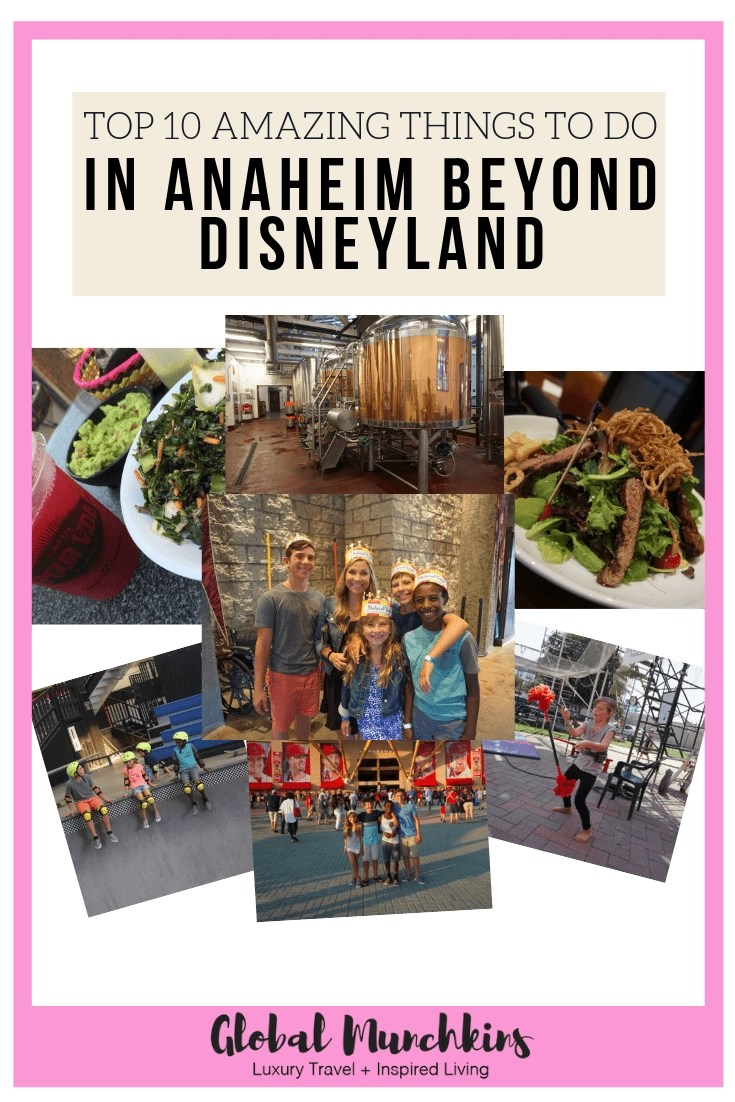 Check out these top 10 amazing things to do in Anaheim beyond Disneyland! #anaheim #traveltips #travel #vacation #familybonding #skatepark #trapeze #hockey #baseball