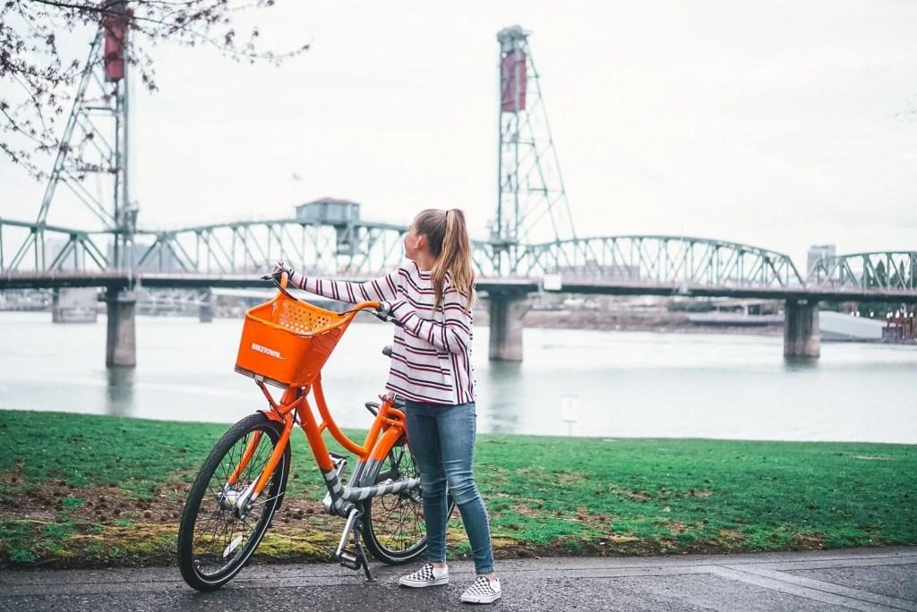 Rent Bikes in Portland