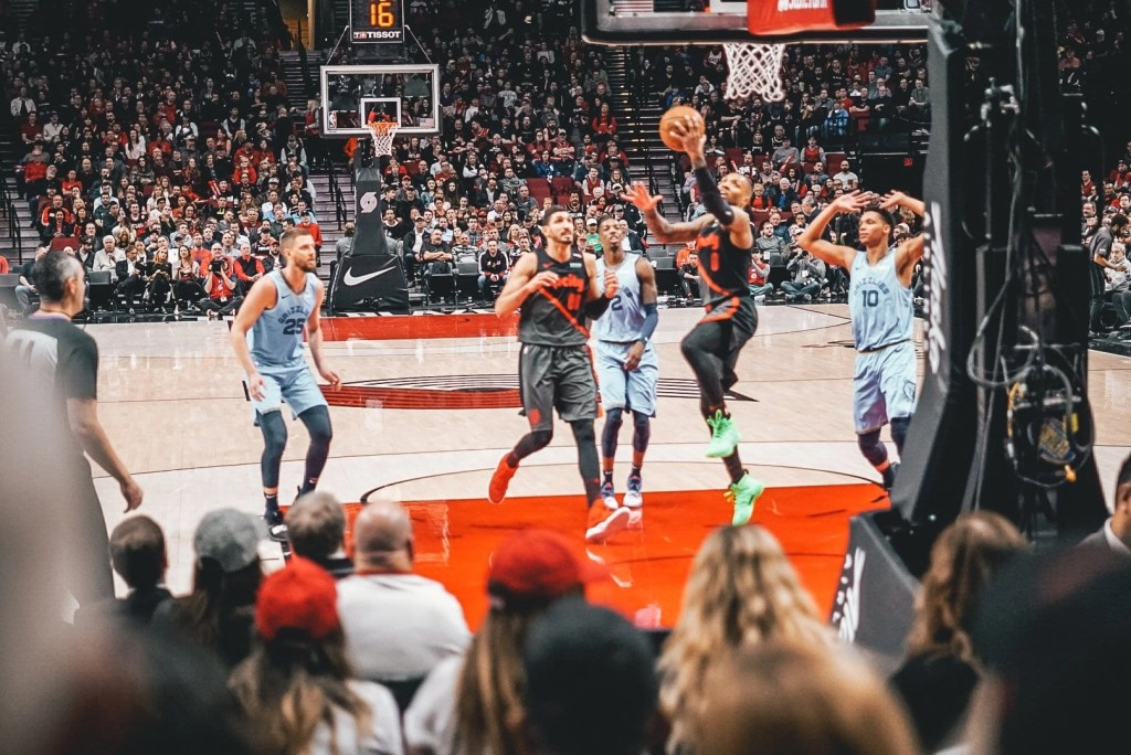 Portland Trailblazers- fun things to do in Portland