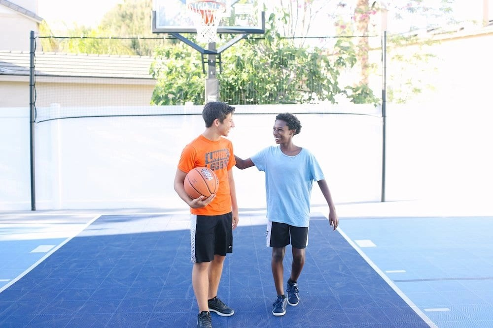 Our Backyard Court is the perfect place for family memories to be made.