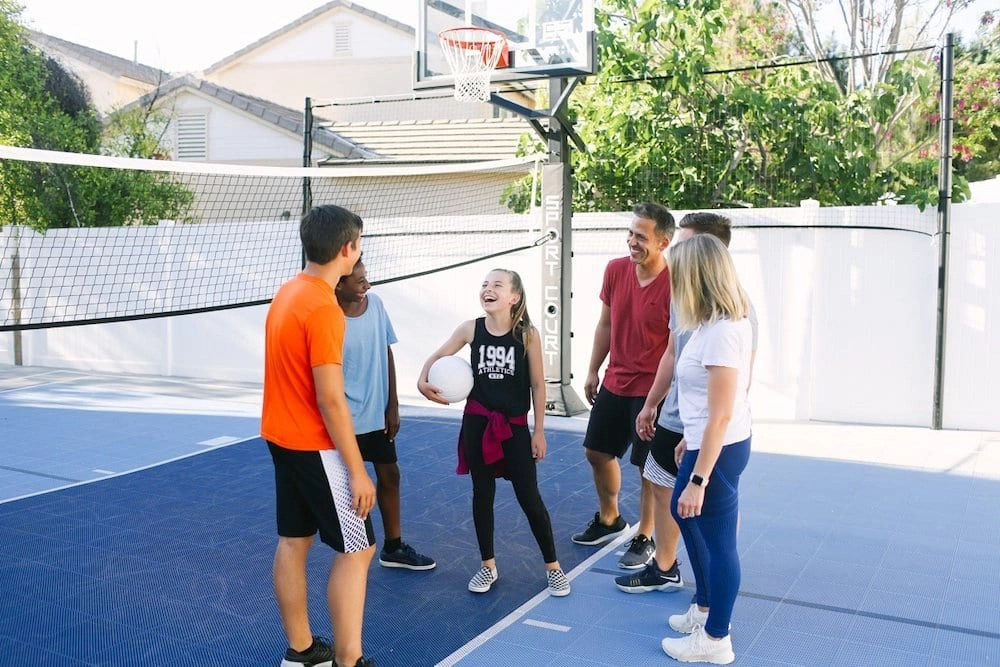 Check out this gorgeous Backyard Court from Sport Court