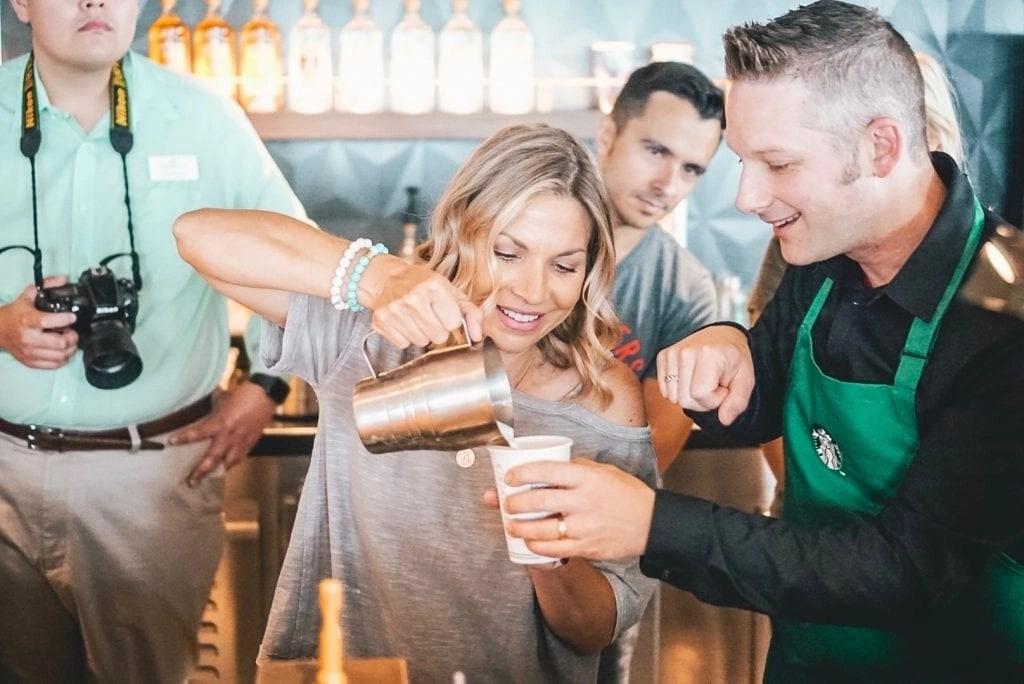 Starbucks Latte Class Norwegian Joy