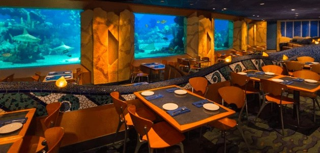 Best Epcot Restaurants - Coral Reef