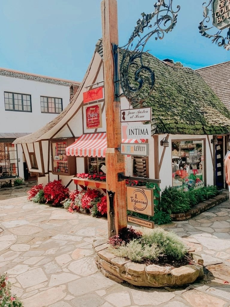 Shopping in Carmel California