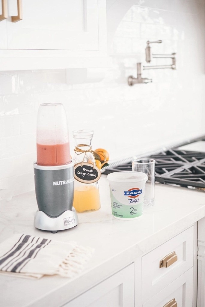 The best protein for kids is one that can be mixed into fun healthy smoothies and treats like FAGE Total Plain Yogurt.