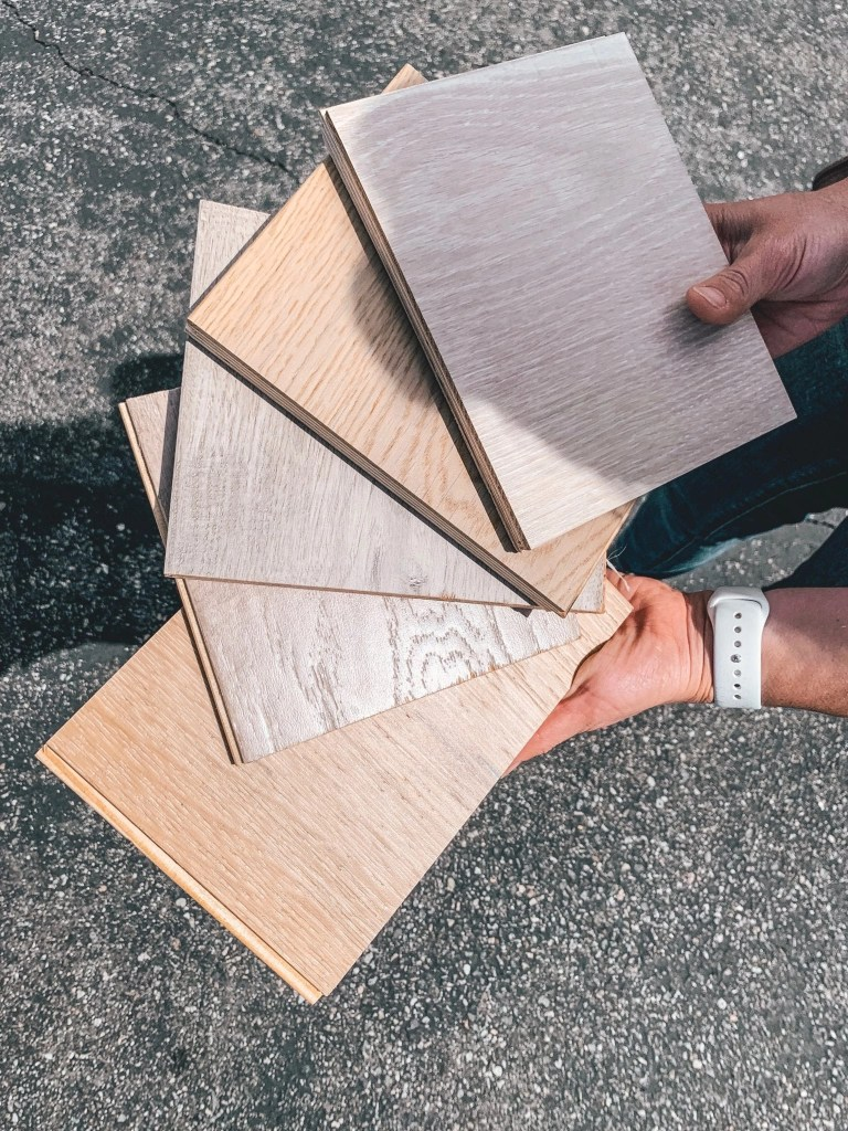 Lumber Liquidators has an incredible technology that allows you to see what different flooring would really look like in your home.