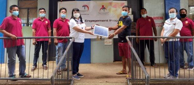 Solar Streetlights donation to Sual Pangasinan