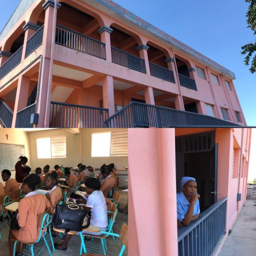 Vocational school in Carrefour, Haiti, built in honour of RCMP Sgt. Mark Gallagher. (Courtesy: Antony Robart)