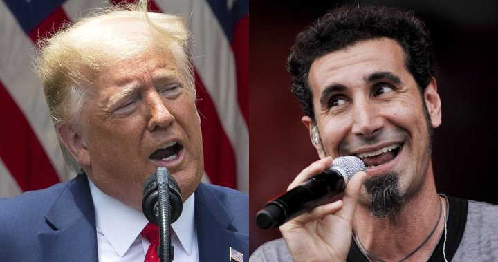 System Of A Down Singer Serj Tankian Those Who Love Our Music And Trump Are Hypocrites National Globalnews Ca