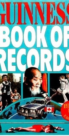 Garry Sowerby and Ken Langley were featured on the front cover of the 1984 edition of the Guinness Book of World Records.