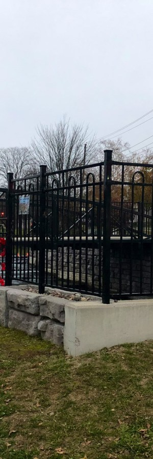 Remembrance Day poppy project displayed at Sullivan's Pond Park in Dartmouth