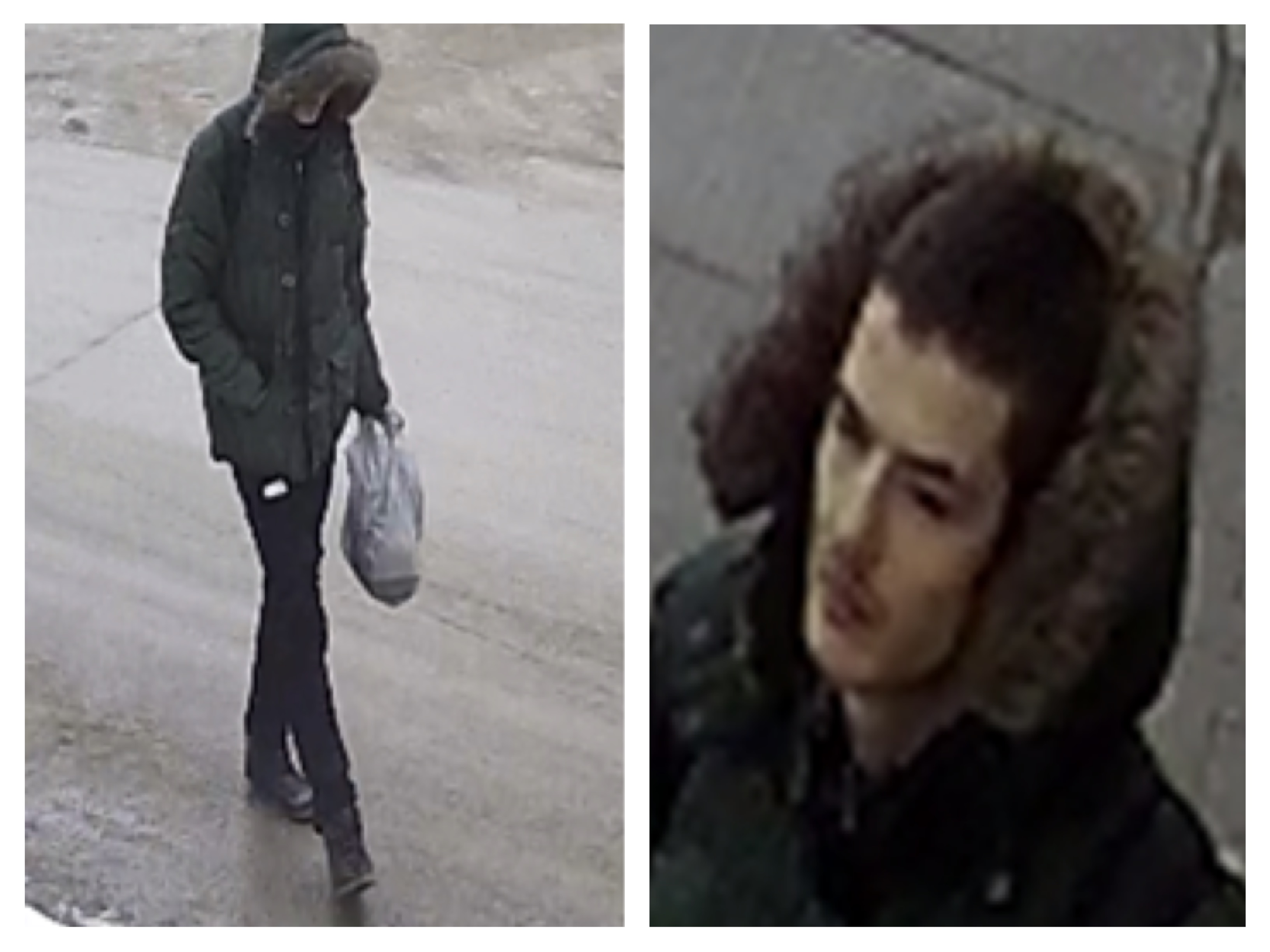 Peterborough police seek suspect in downtown street robbery Wednesday afternoon