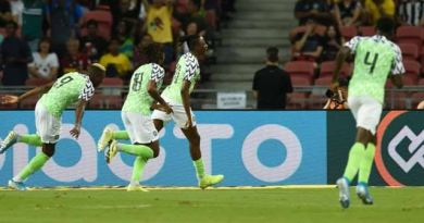 AFCON Qualifiers: Super Eagles bounce back to beat Benin Republic 2-1 at Godswill Akpabio Stadium