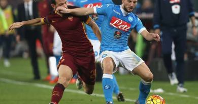 Watch AS Roma vs Napoli Live Streaming