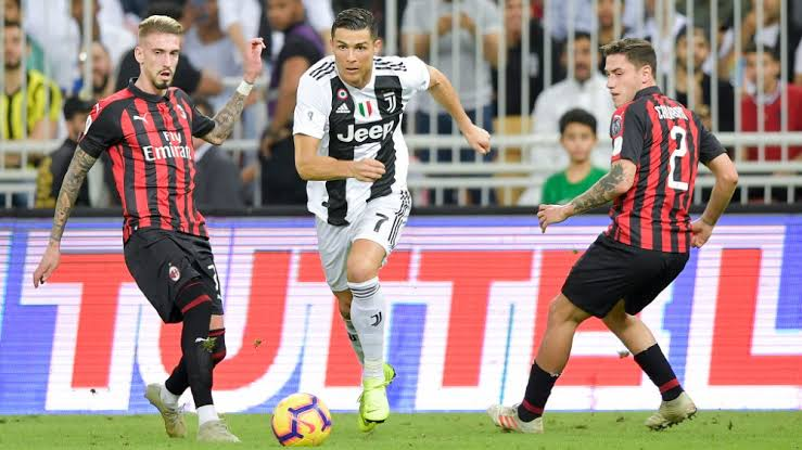 Coppa Italia Semi-finals: Watch AC Milan vs Juventus Live Streaming