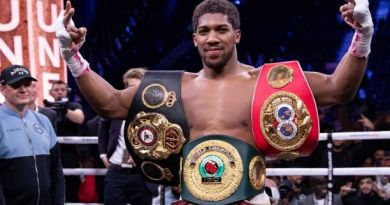 Nigerians Reacts As Anthony Joshua Applied For His National ID Card And Was Given Within 15 Minutes