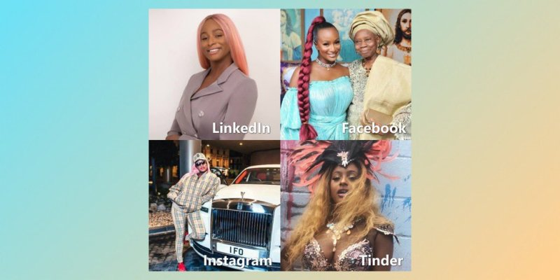 #socialchallenge, See how DJ Cuppy Looks in socialchallenge