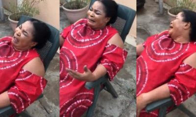 Reason Why a Nigerian Mum Weep over her Son returning back to School