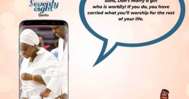 My sons, don't marry a girl who is worldly - Pastor Adeboye