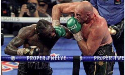 Wilder Hospitalises following a heavy defeat by Fury on Sunday