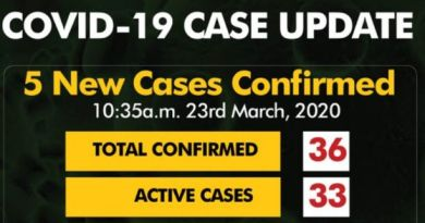 Nigeria recorded first death of COVID-19 from 36 confirmed cases