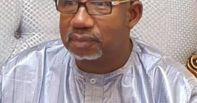 Governor of Bauchi State, Bala Mohammed, tested positive for coronavirus