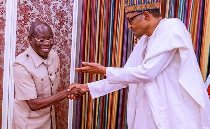 """A child of light will always defeat darkness"" - Adams Oshiomhole"