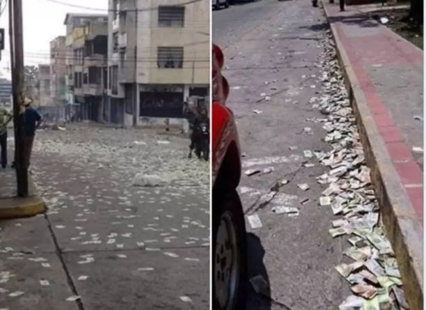 Italians Throwing their Money on the Streets, Claiming it's no Longer Useful to them amid Coronavirus