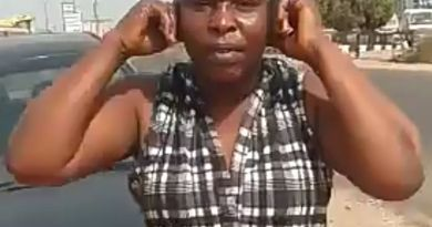 Lockdown: A Woman On Her Way To Buy Onions Get Punished By Nigerian Soldiers (Video)
