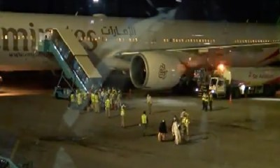 Mixed reaction as 256 Nigerians arrive in Lagos from UAE