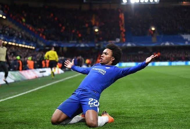 Willian to sign three-year Chelsea deal 'tomorrow' as he heads towards free agency