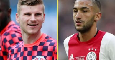 BREAKING: Timo Werner, Hakim Ziyech Will Join Chelsea This Week As Blues Fans Await Their Arrival At The Bridge