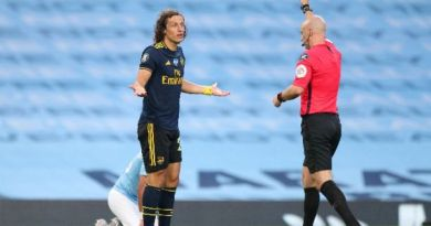 Man City 3-0 Arsenal: Fans throw heavy shade on David Luiz over his awful performance last night in EPL game