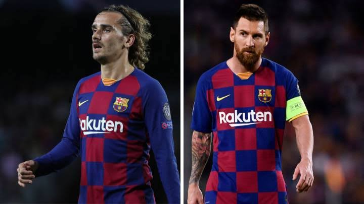 Lionel Messi and Antoine Griezmann separated after dressing room bust-up