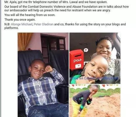The Boy who asked his mum to calm down in the viral video becomes 'Calm Down Ambassador' (Screenshot)