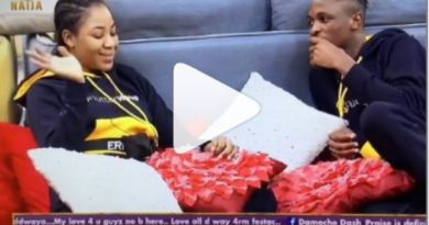 BBNaija: I'm no more interested Erica returns Laycon ring