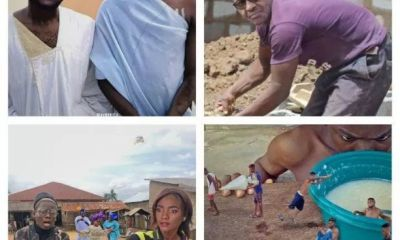 See amazing editing work of a little artist who edited the viral photo of Davido and Wizkid